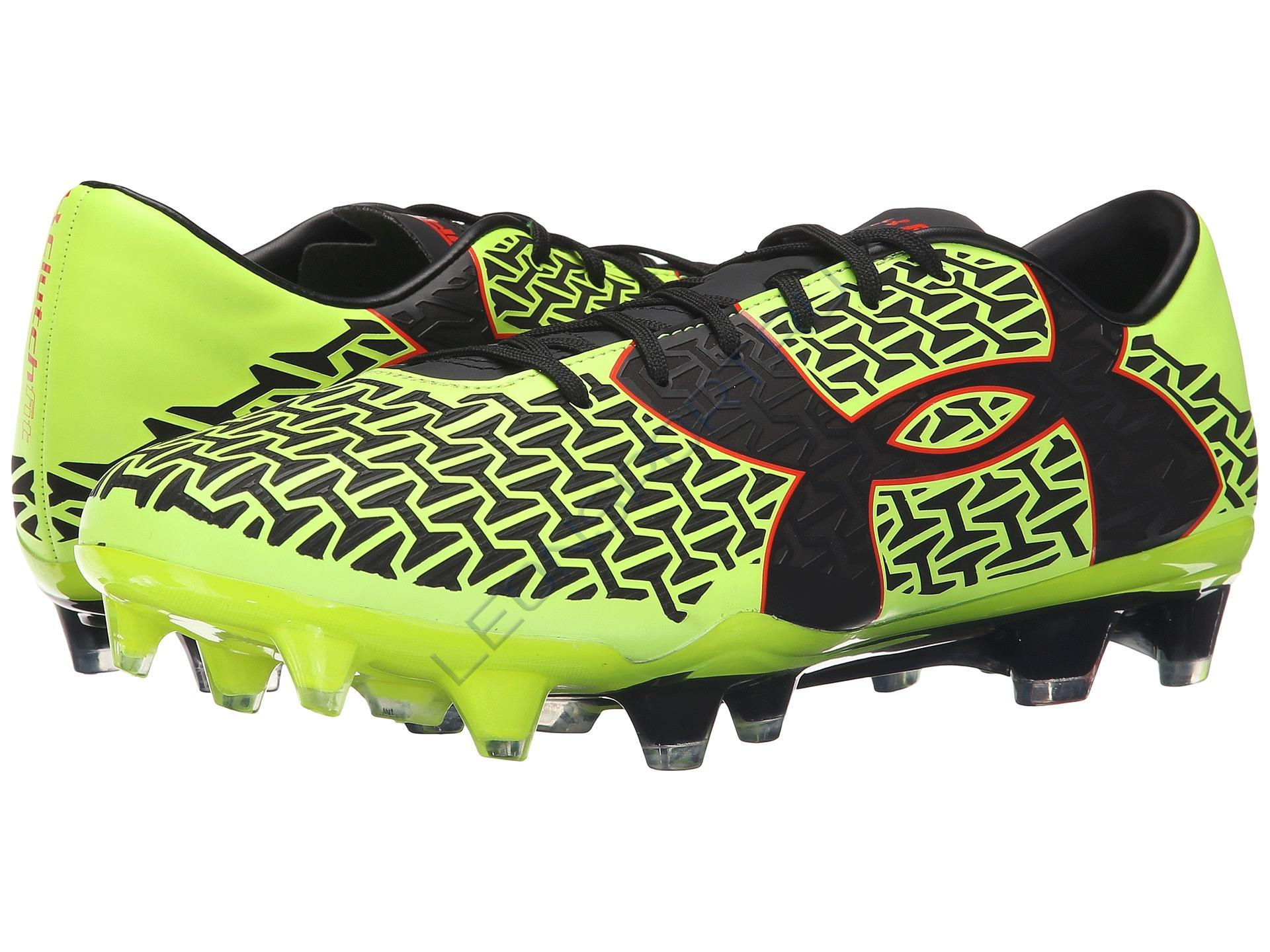 Бутсы UNDER ARMOUR CoreSpeed Force 2.0 FG Lime green SR
