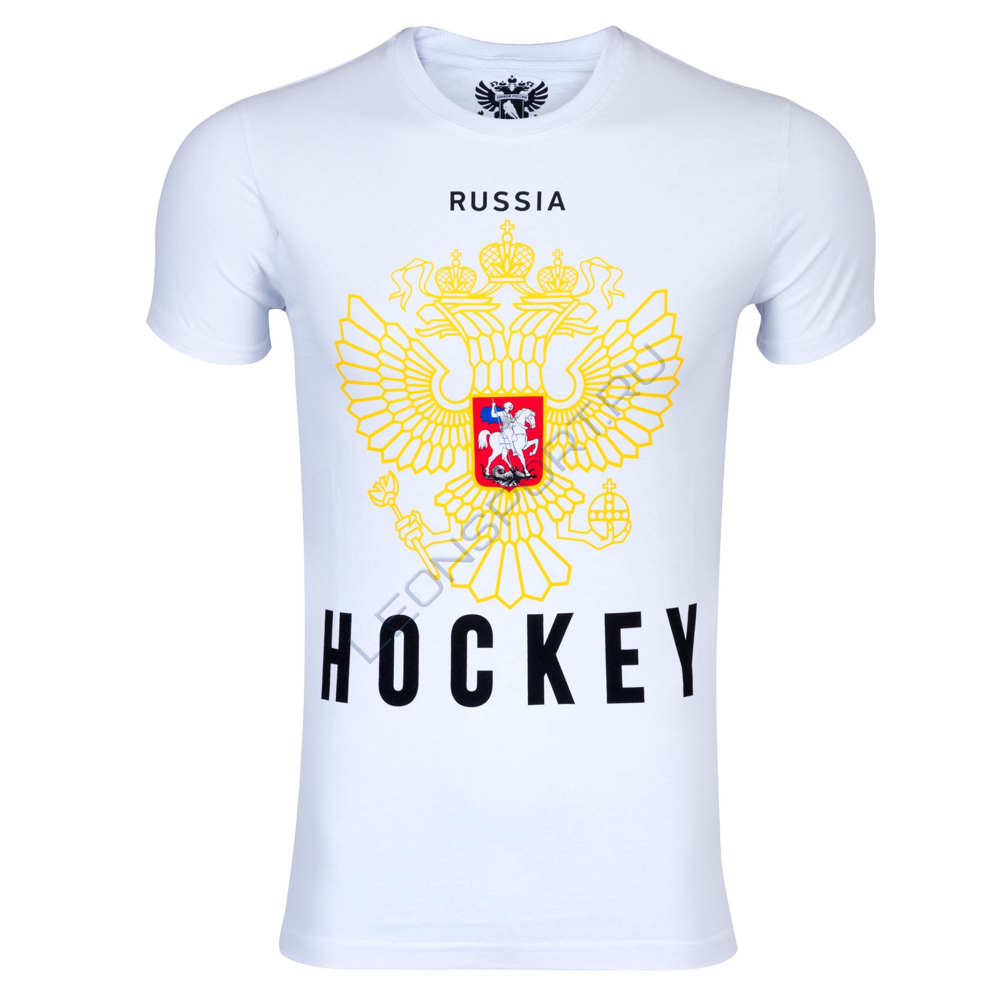 "Футболка RED MACHINE ""Russia Hockey"" SR"