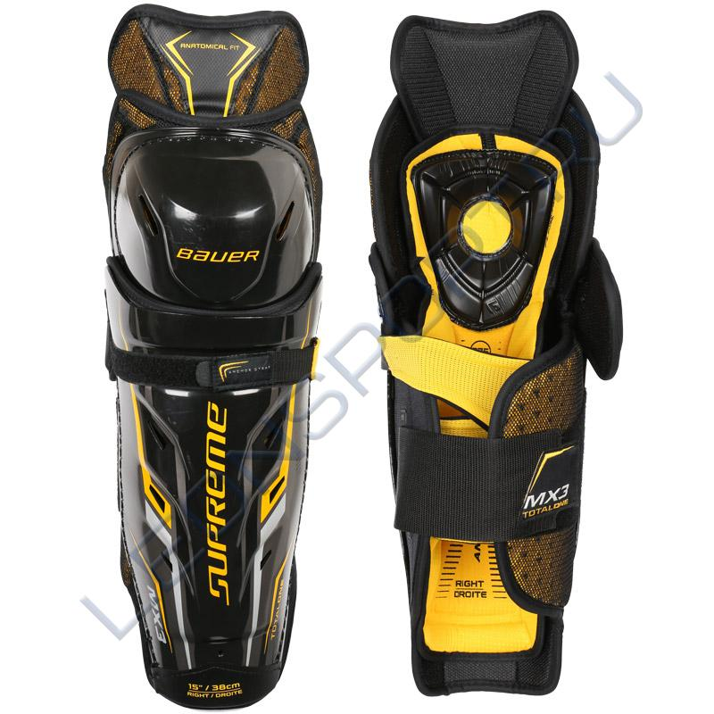 Щитки хоккейные BAUER SUPREME TOTAL ONE MX3 JR