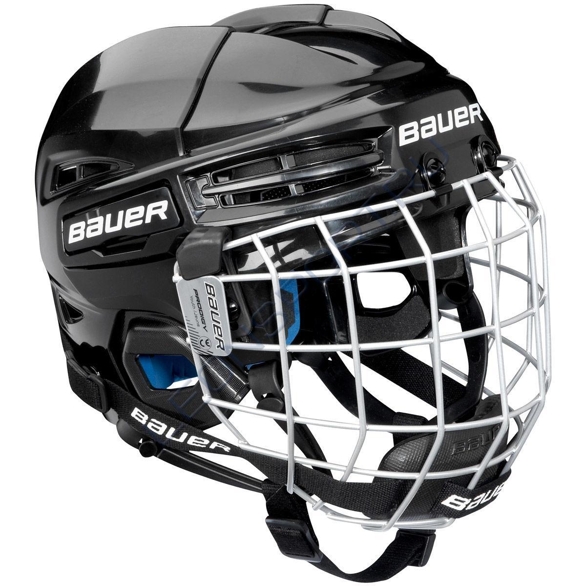 Шлем хоккейный с маской BAUER PRODIGY YTH