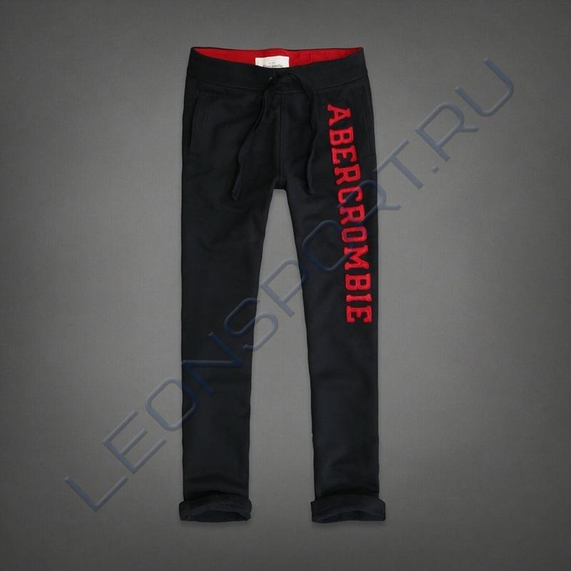 Штаны  A&F RED LOGO CLASSIC SR