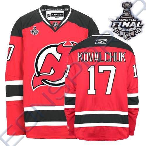 Свитер хоккейный REEBOK 6615 Prem KOVALCHUK JR
